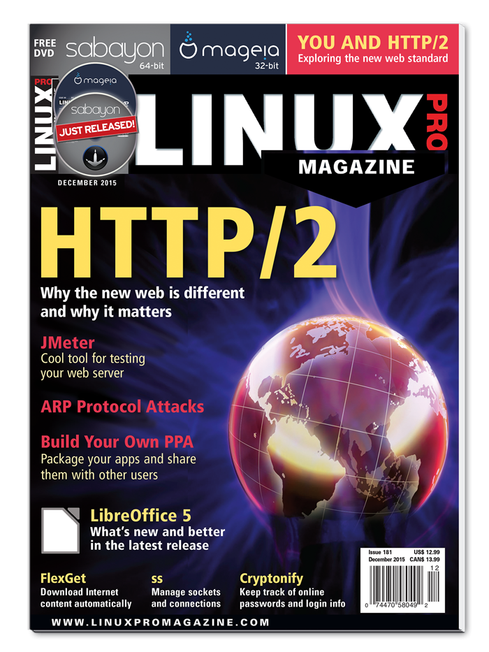 Linux Pro Magazine #181 - Print Issue