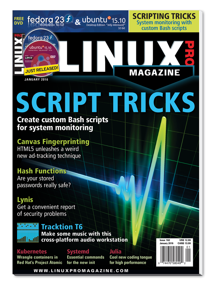 Linux Pro Magazine #182 - Print Issue