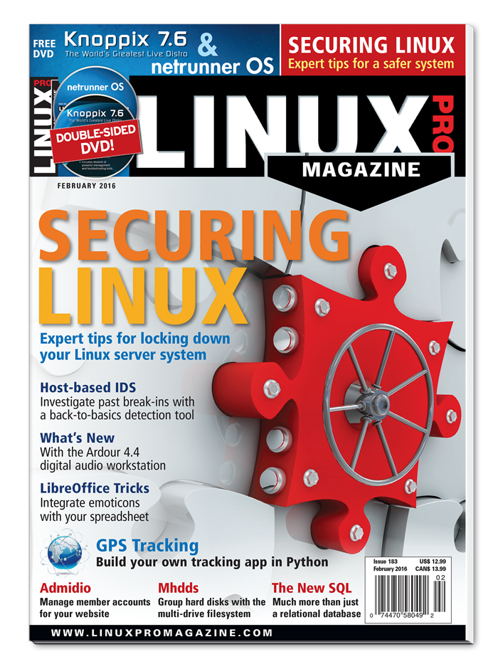Linux Pro Magazine #183 - Print Issue
