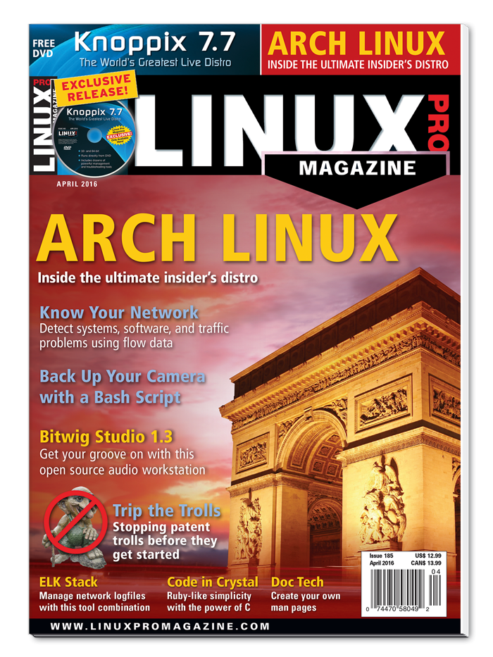 Linux Pro Magazine #185 - Print Issue
