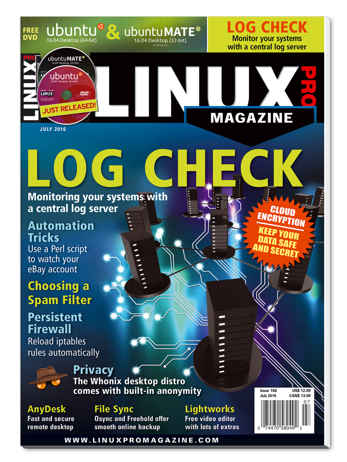 Linux Pro Magazine #188 - Print Issue