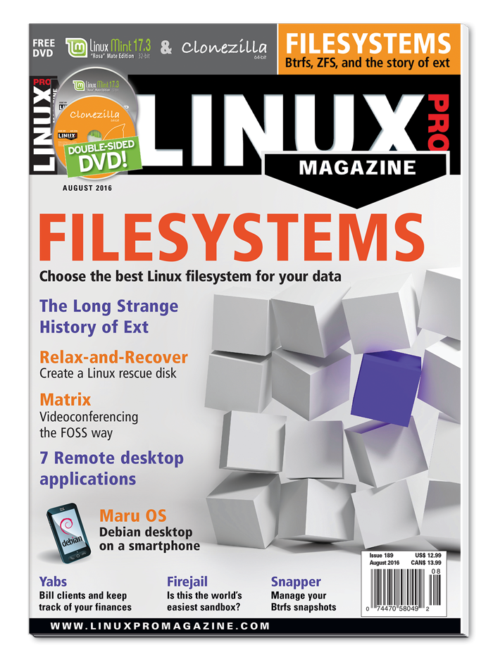 Linux Pro Magazine #189 - Print Issue