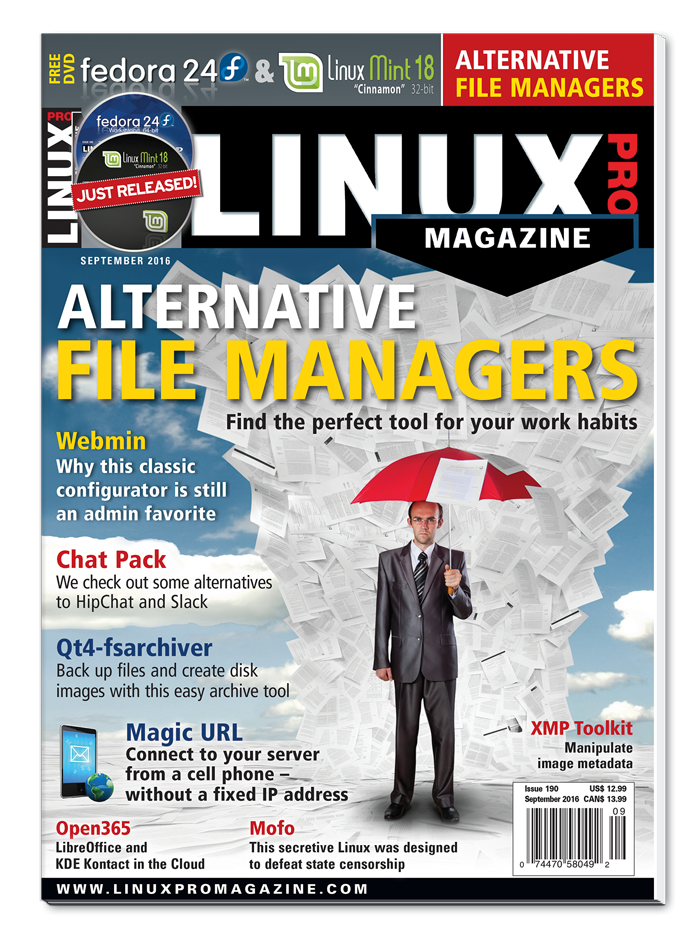 Linux Pro Magazine #190 - Print Issue