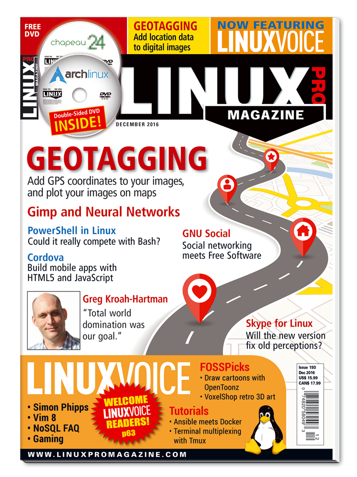 Linux Pro Magazine #193 - Print Issue