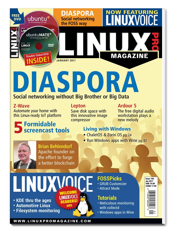 Linux Pro Magazine #194 - Print Issue