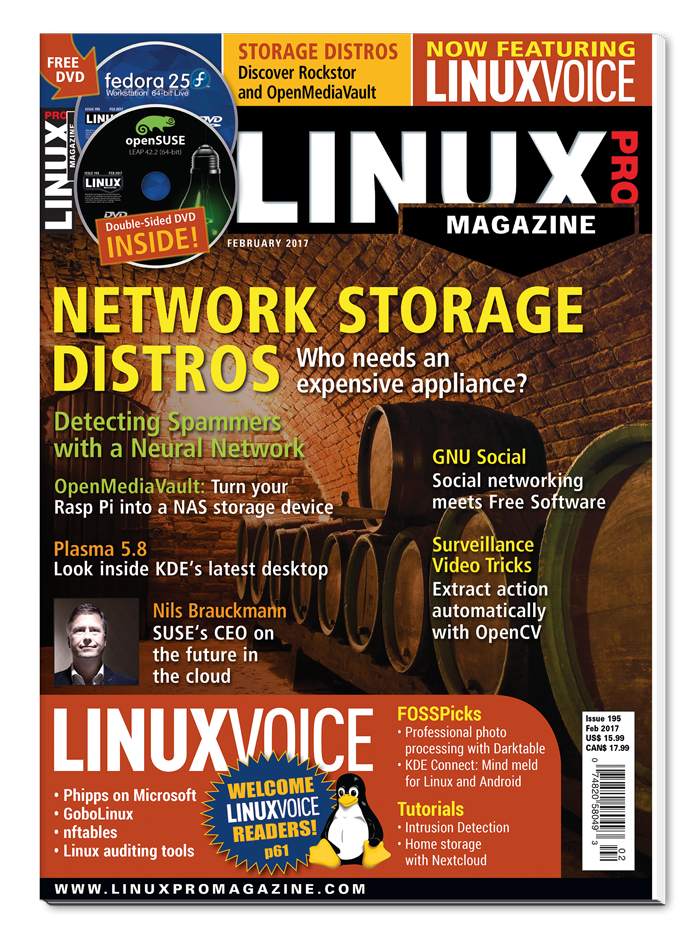 Linux Pro Magazine #195 - Print Issue