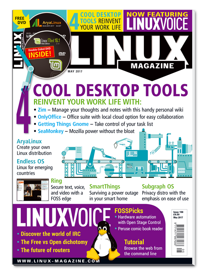 Linux Pro Magazine #198 - Print Issue