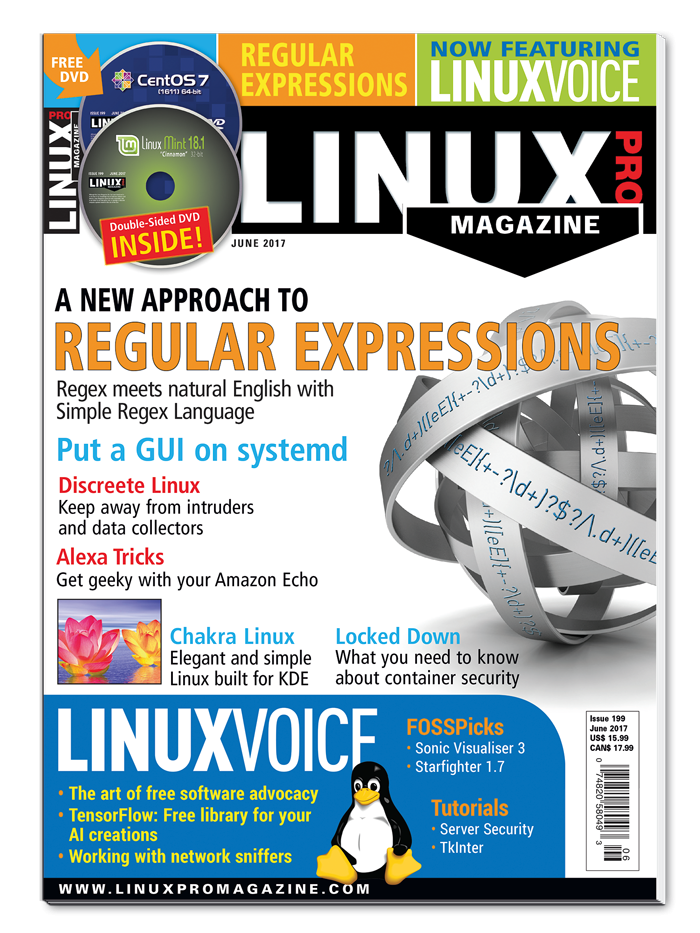 Linux Pro Magazine #199 - Print Issue