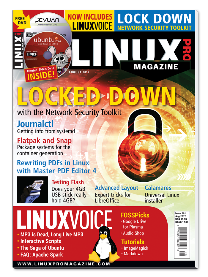 Linux Pro Magazine #201 - Print Issue
