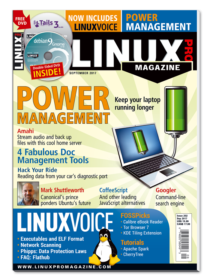 Linux Pro Magazine #202 - Print Issue
