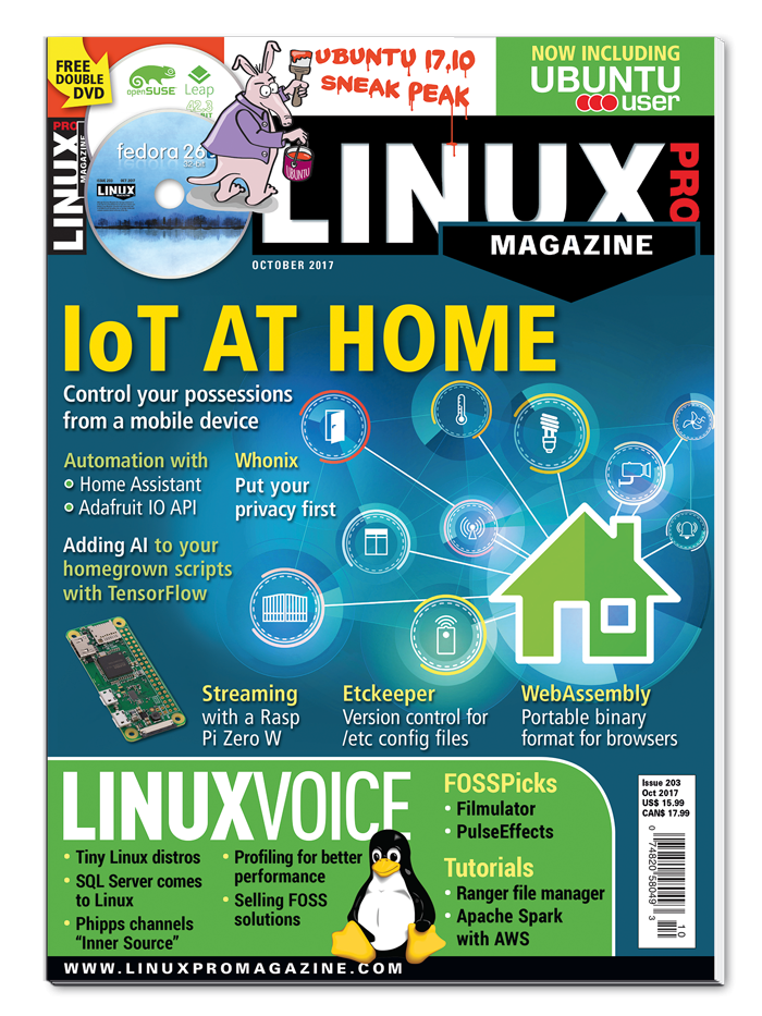 Linux Pro Magazine #203 - Print Issue