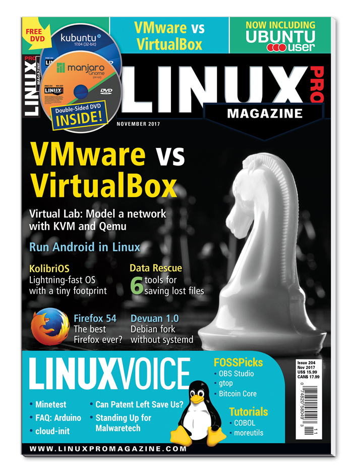 Linux Pro Magazine #204 - Print Issue