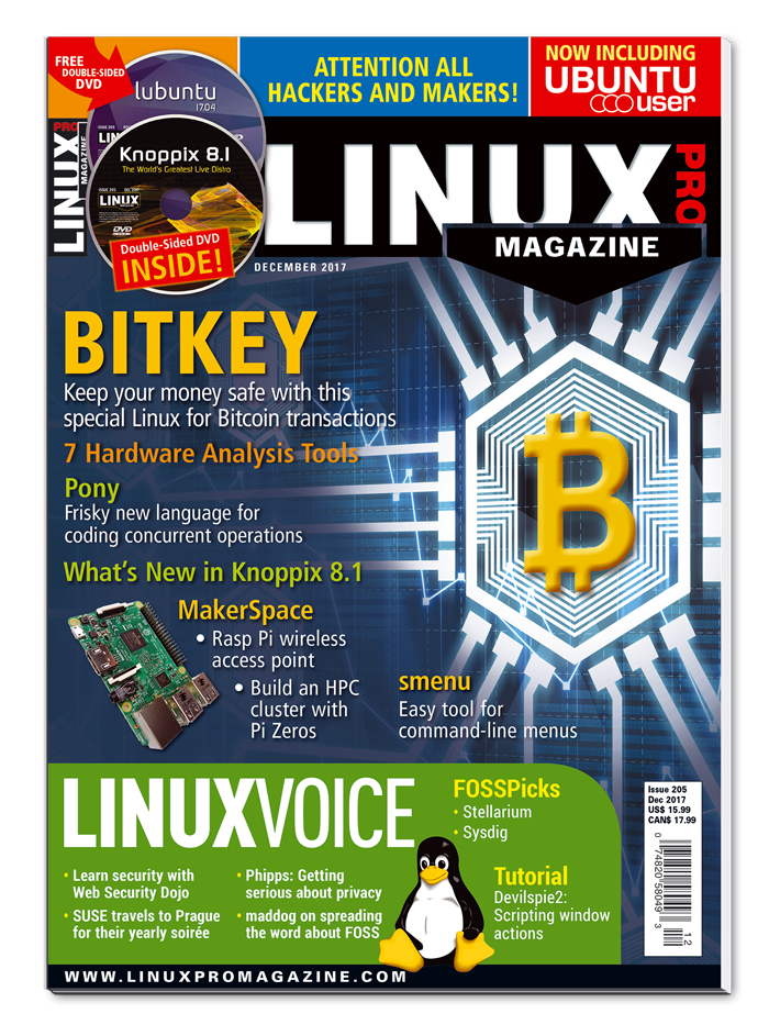 Linux Pro Magazine #205 - Print Issue