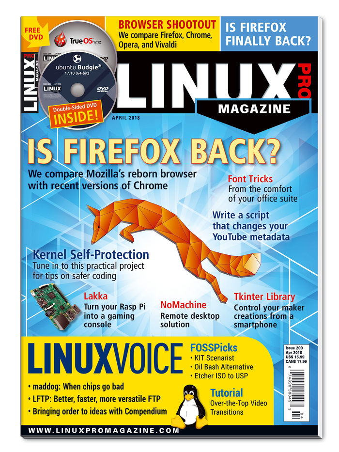 Linux Pro Magazine #209 - Print Issue