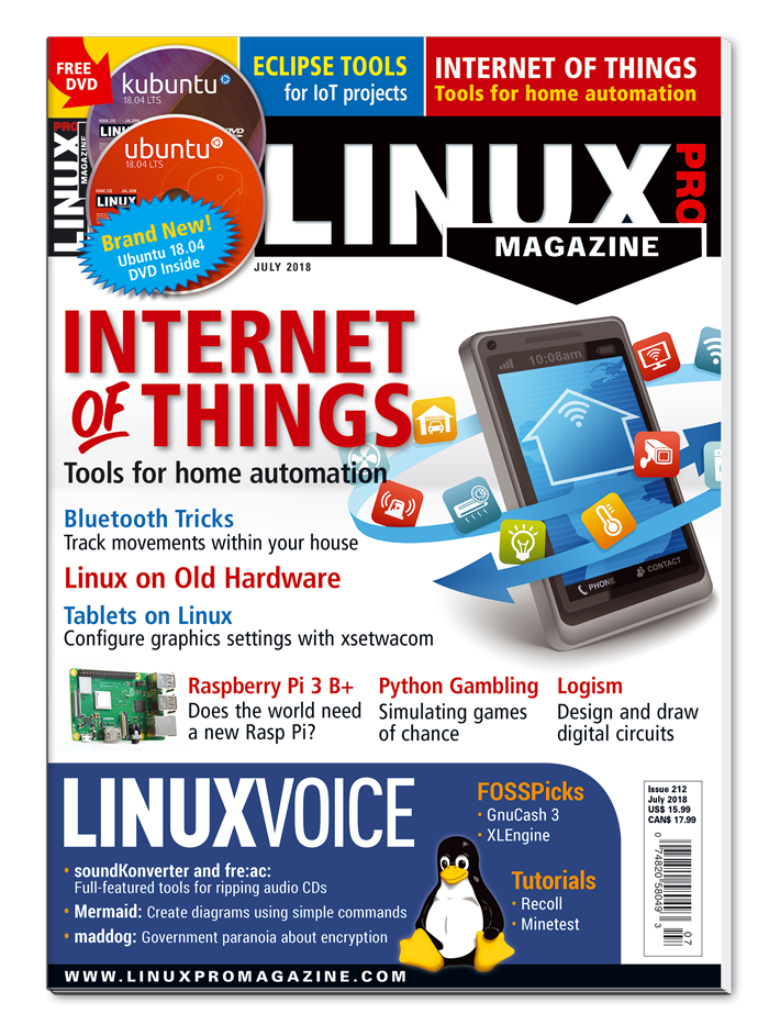 Linux Pro Magazine #212 - Print Issue