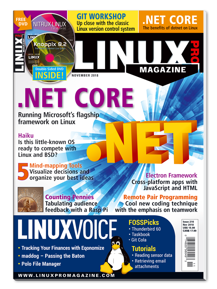 Linux Pro Magazine #216 - Print Issue