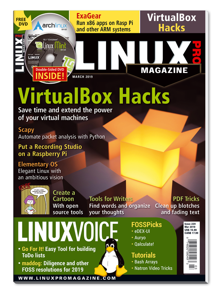 Linux Pro Magazine #220 - Print Issue