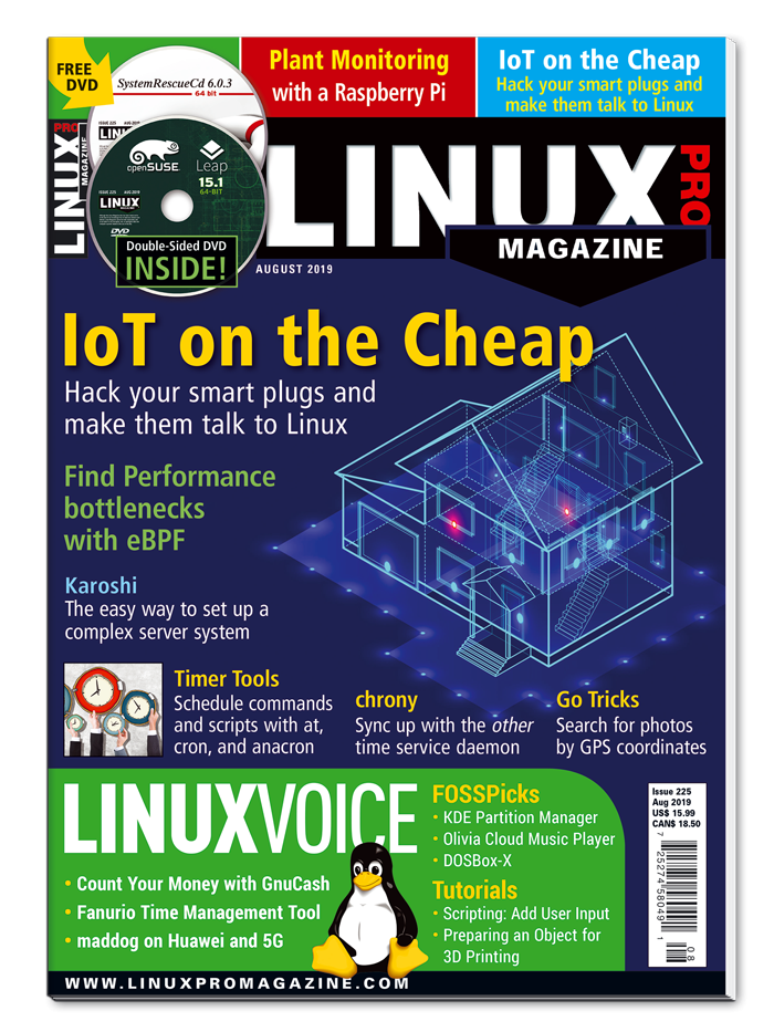 Linux Pro Magazine #225 - Print Issue