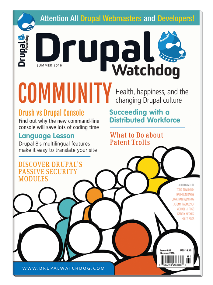 Drupal Watchdog 6.01 (#11) - Print Issue