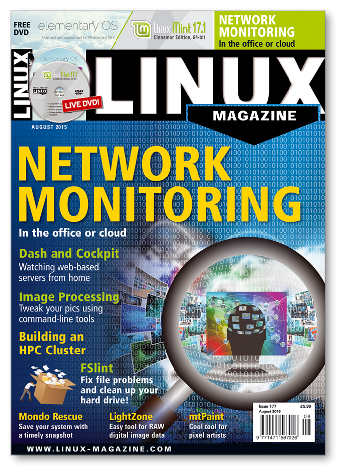 Linux Magazine #177 - Print Issue