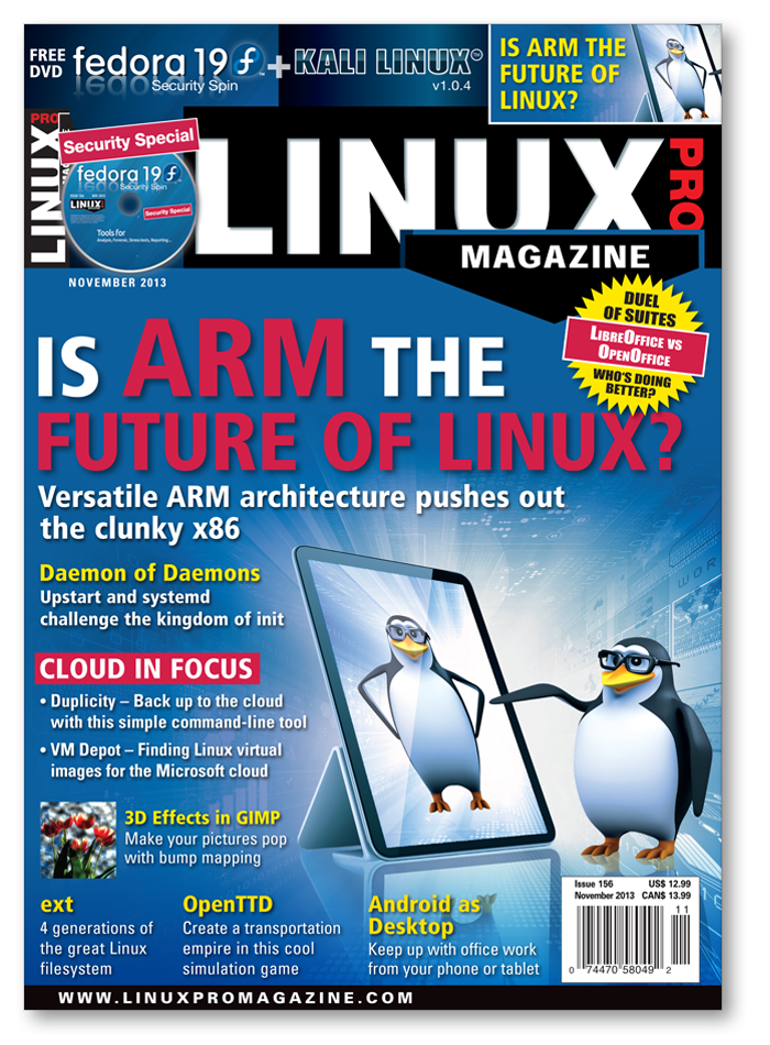 Linux Pro Magazine #156 - Print Issue