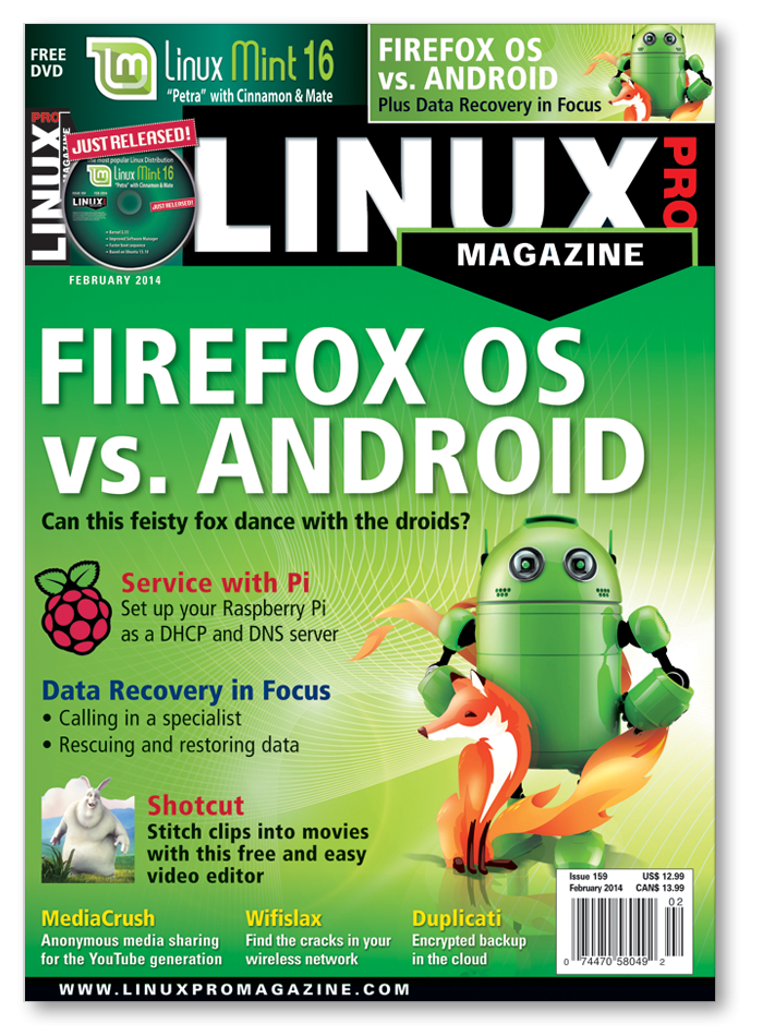 Linux Pro Magazine #159 - Print Issue