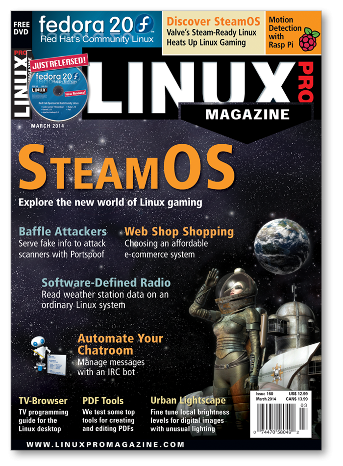 Linux Pro Magazine #160 - Print Issue