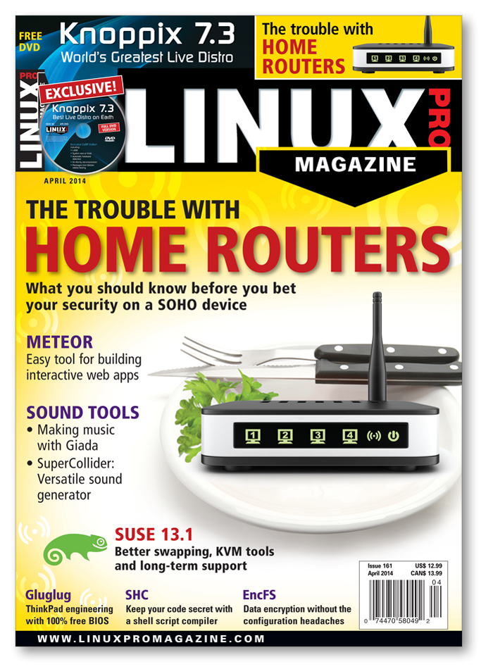 Linux Pro Magazine #161 - Print Issue