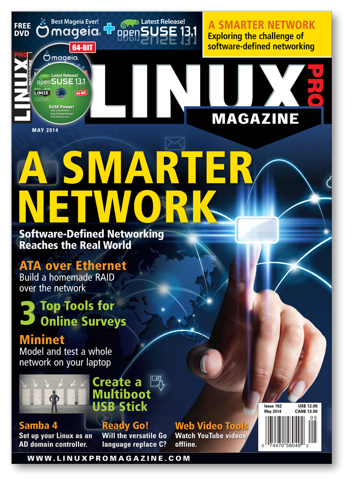 Linux Pro Magazine #162 - Print Issue