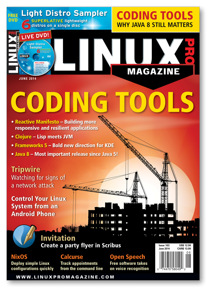 Linux Pro Magazine #163 - Print Issue