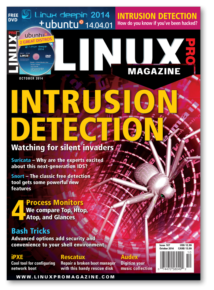 Linux Pro Magazine #167 - Print Issue