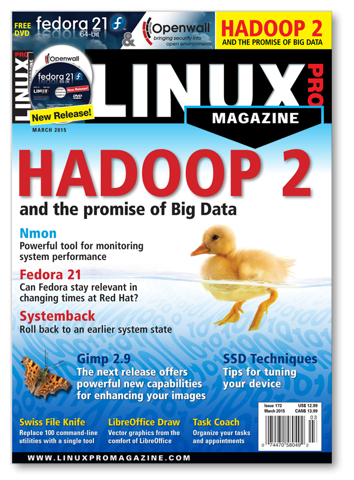 Linux Pro Magazine #172 - Print Issue