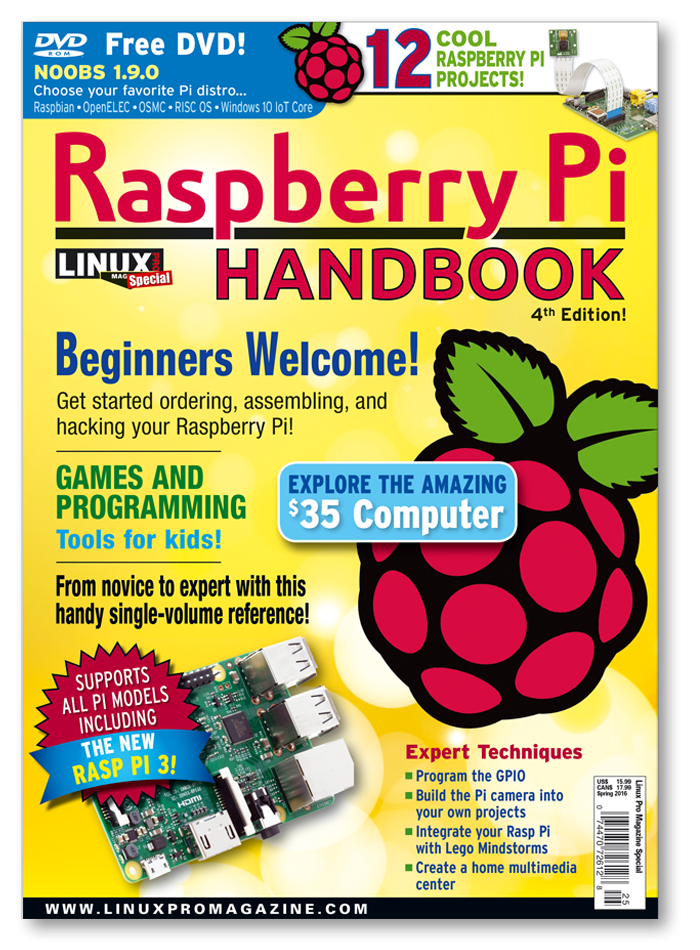 Raspberry Pi Handbook Special Edition #25 - Digital Issue