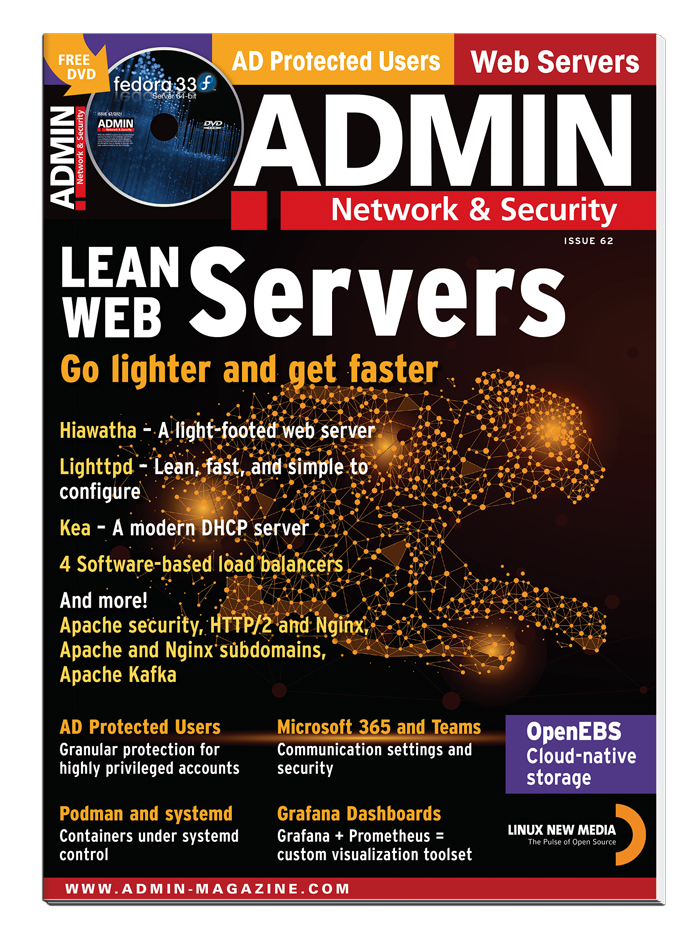 ADMIN magazine #62 - Print Issue
