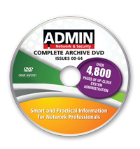 The Complete ADMIN magazine - Archive DVD - Issues 0-64