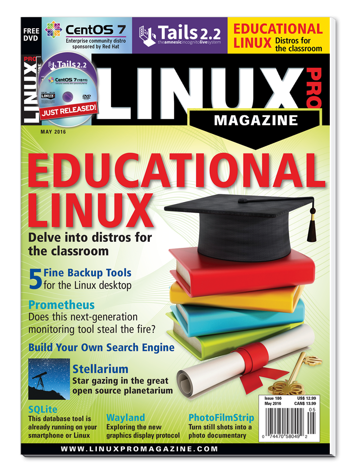 Linux Pro Magazine #186 - Print Issue