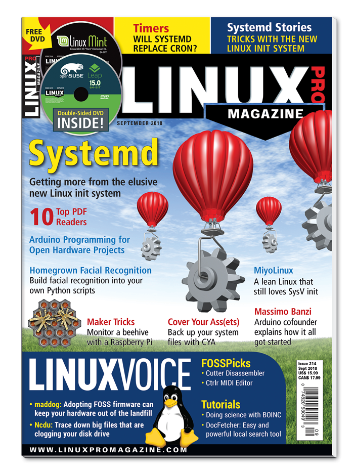 Linux Pro Magazine #214 - Print Issue