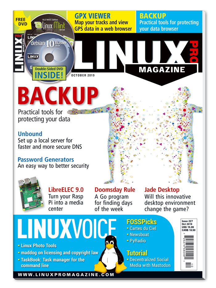 Linux Pro Magazine #227 - Print Issue