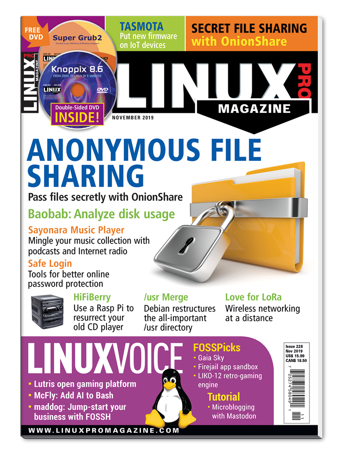 Linux Pro Magazine #228 - Print Issue