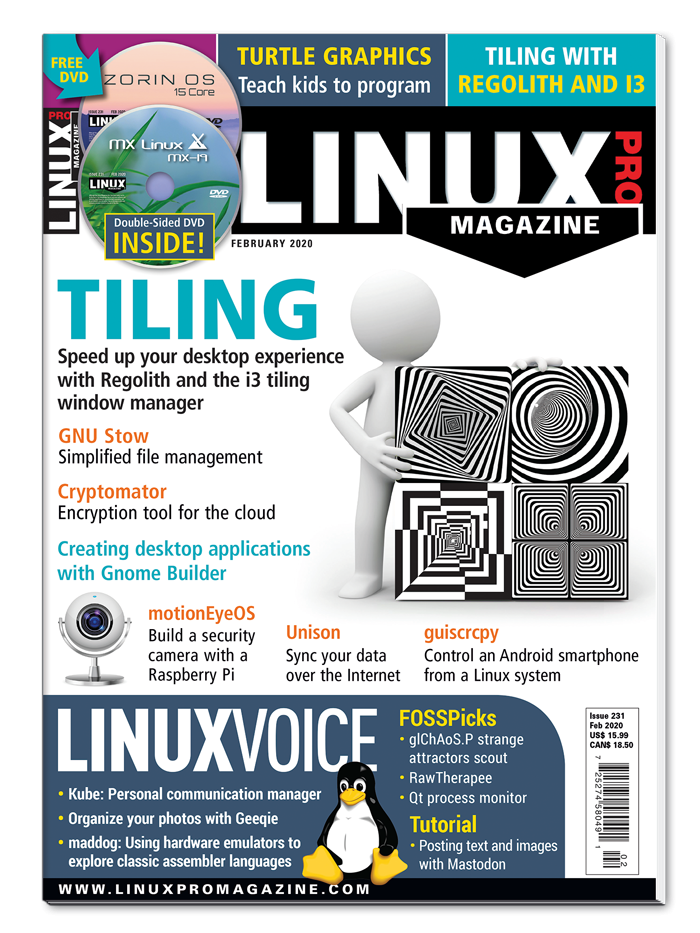 Linux Pro Magazine #231 - Print Issue