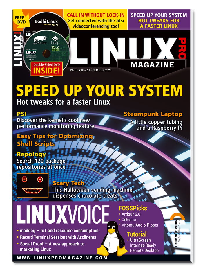 Linux Pro Magazine #238 - Print Issue