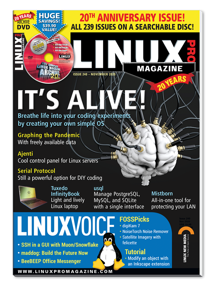 Linux Pro Magazine Digital Subscription - (12 issues)