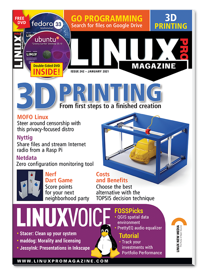 Linux Pro Magazine #242 - Print Issue