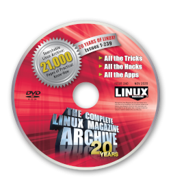 The Complete Linux Magazine - Archive DVD - Issues 1-239