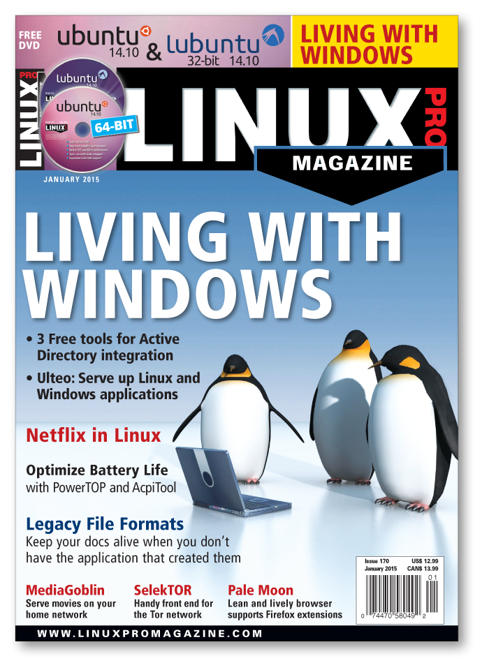Linux Pro Magazine #170 - Print Issue