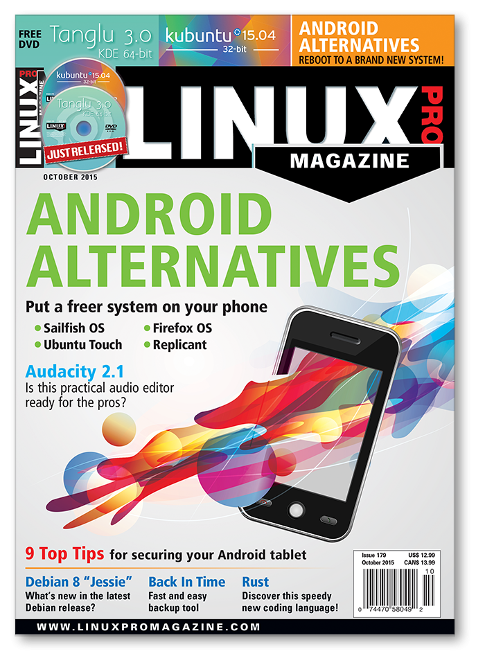 Linux Pro Magazine #179 - Print Issue