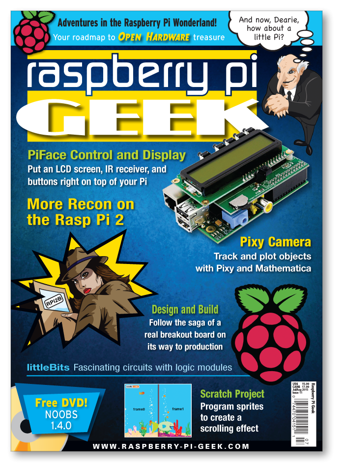 Raspberry Pi Geek #11 - Digital Issue