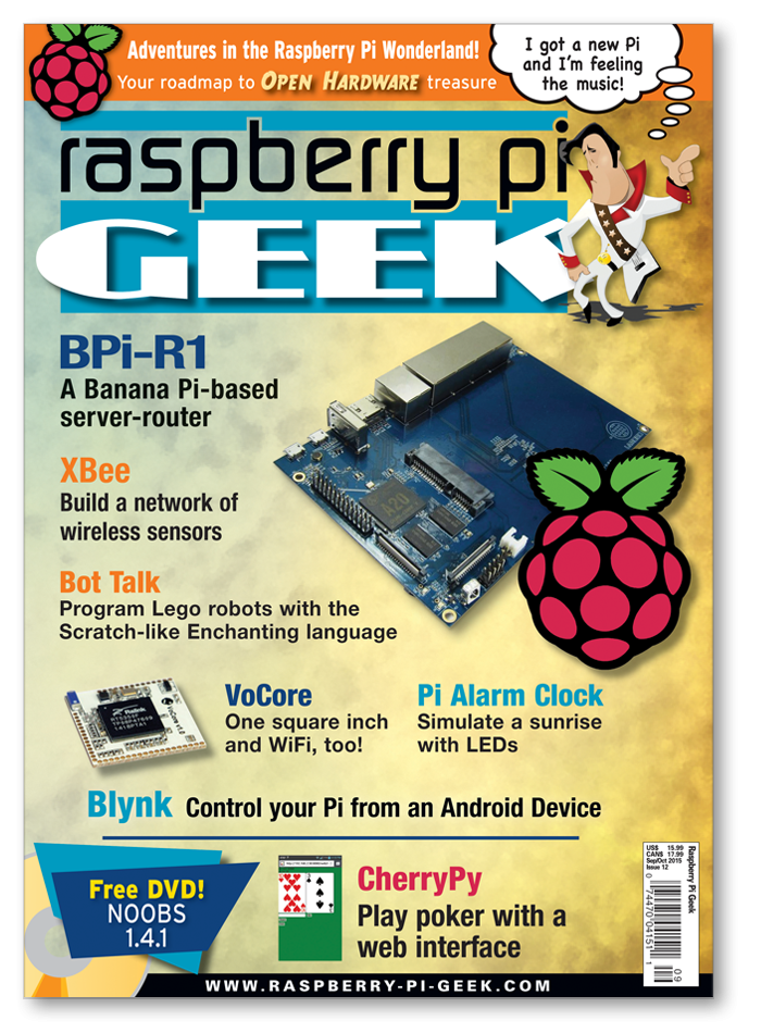 Raspberry Pi Geek #12 - Digital Issue