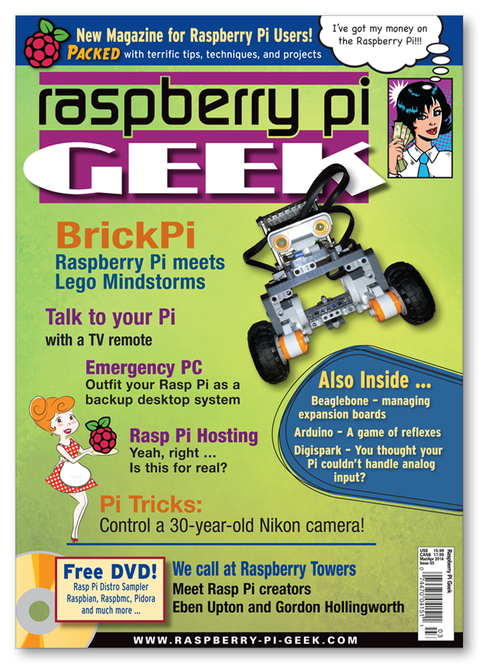 Raspberry Pi Geek #03 - Print Issue