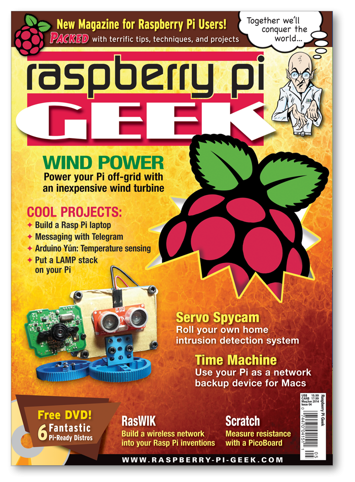Raspberry Pi Geek #04 - Print Issue